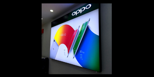 OPPO软膜卡布灯箱