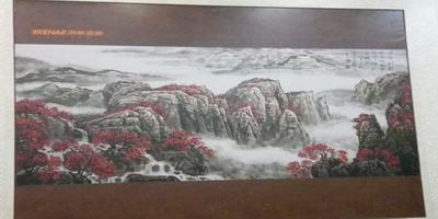 润华刀刮布乐虎国际娱乐画面安装于高铁东站贵宾厅